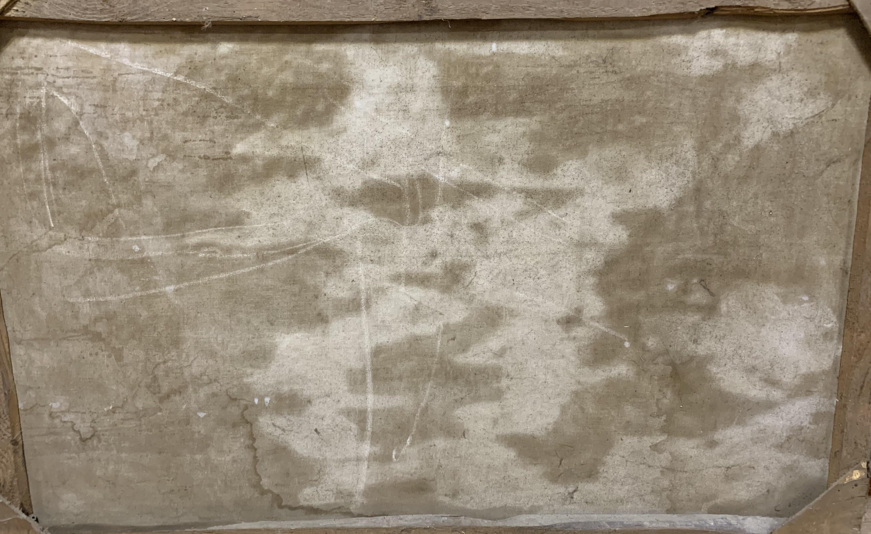 Гуллер Ю. Буря в море, как стол,холст, масло 1953  - 4
