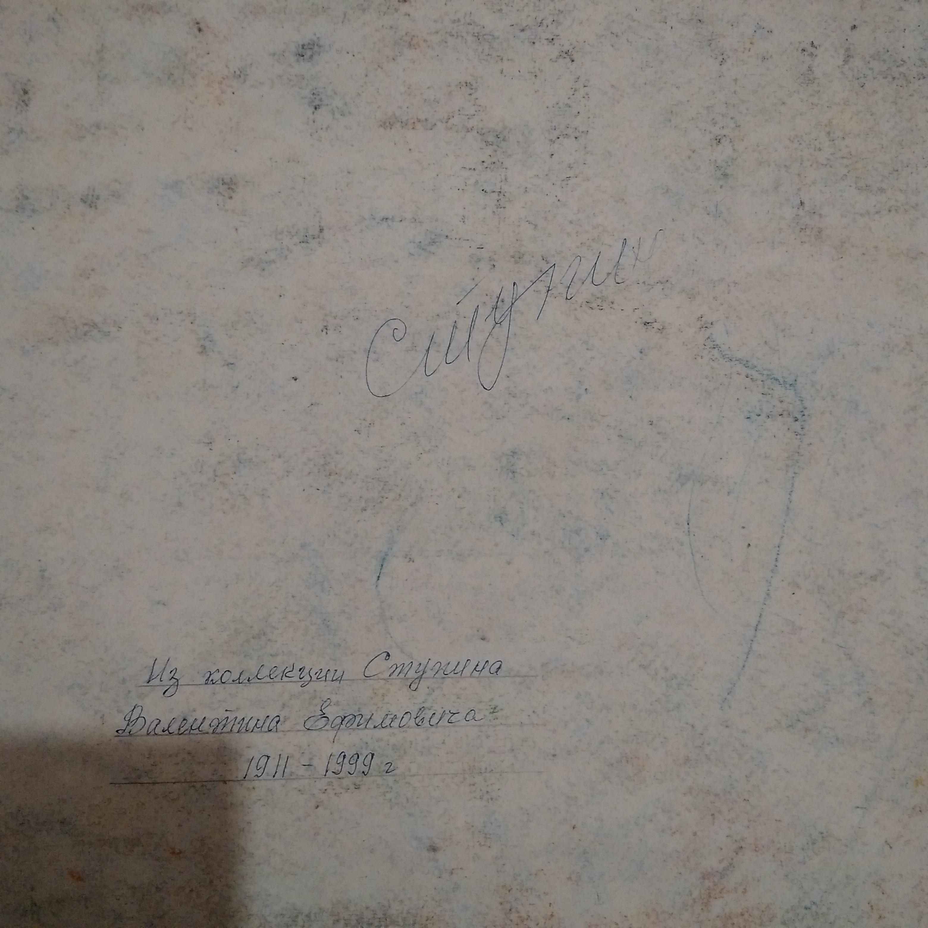 Половодье 70-94 см., бумага, пастель  - 2