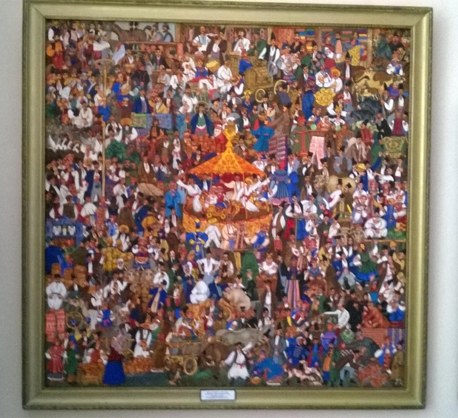 Сорочинская ярмарка 1986. Холст, масло - 2