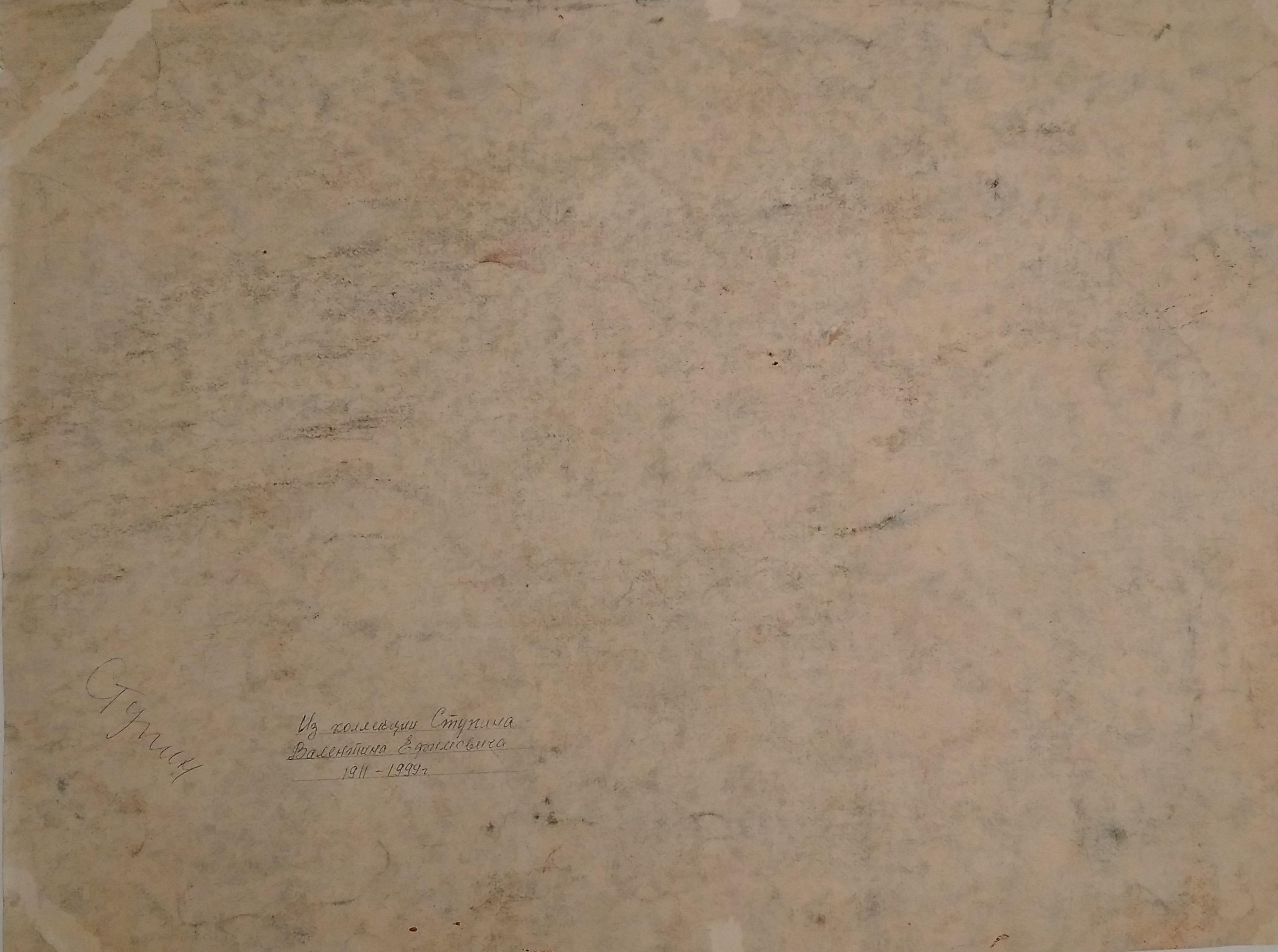 Особняк 59-81 см., бумага, пастель  - 1
