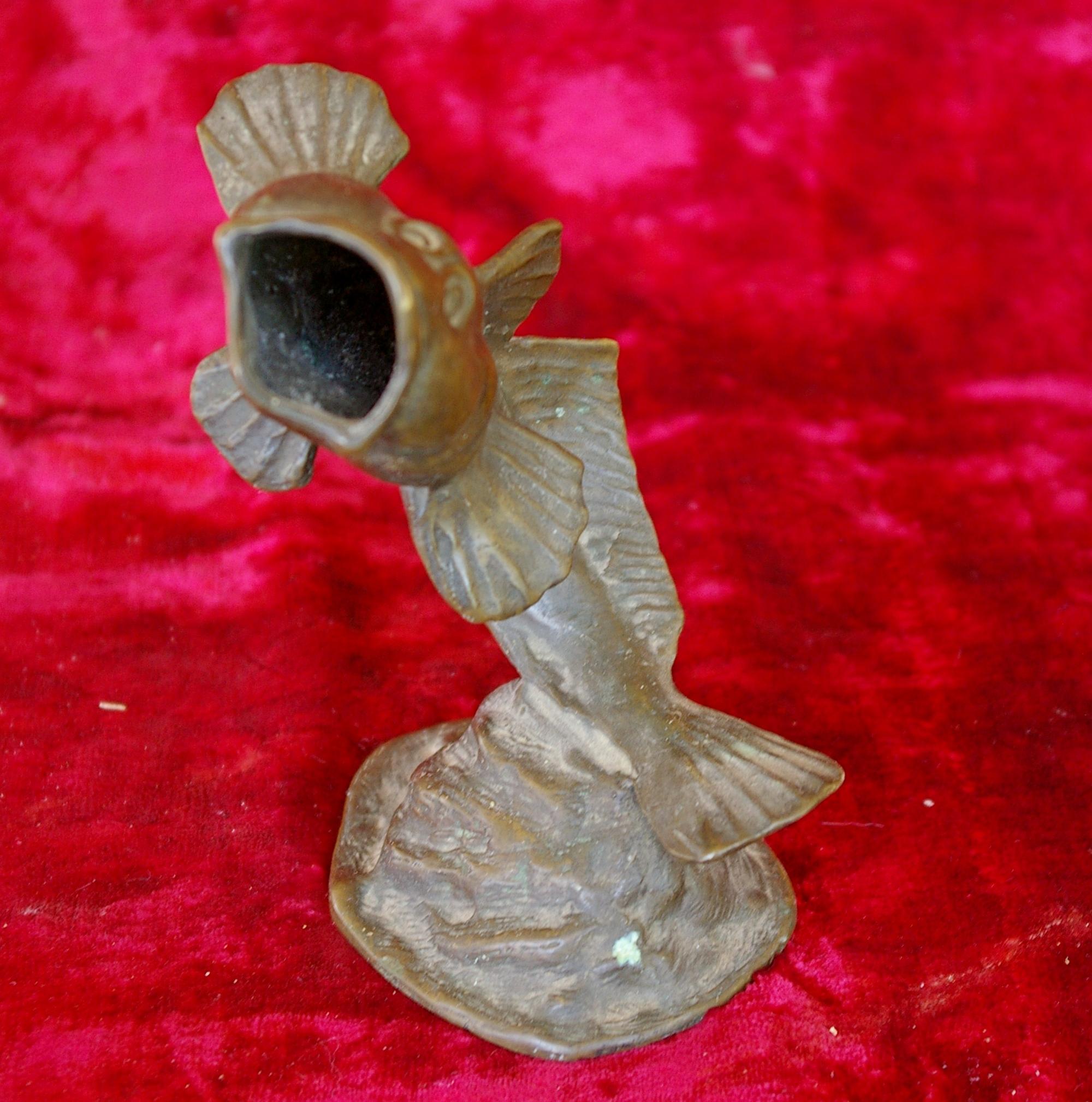 Скульптура Пепельница, материал бронза, высота 14 см., ширина 7 см., длина 6 см. - 1