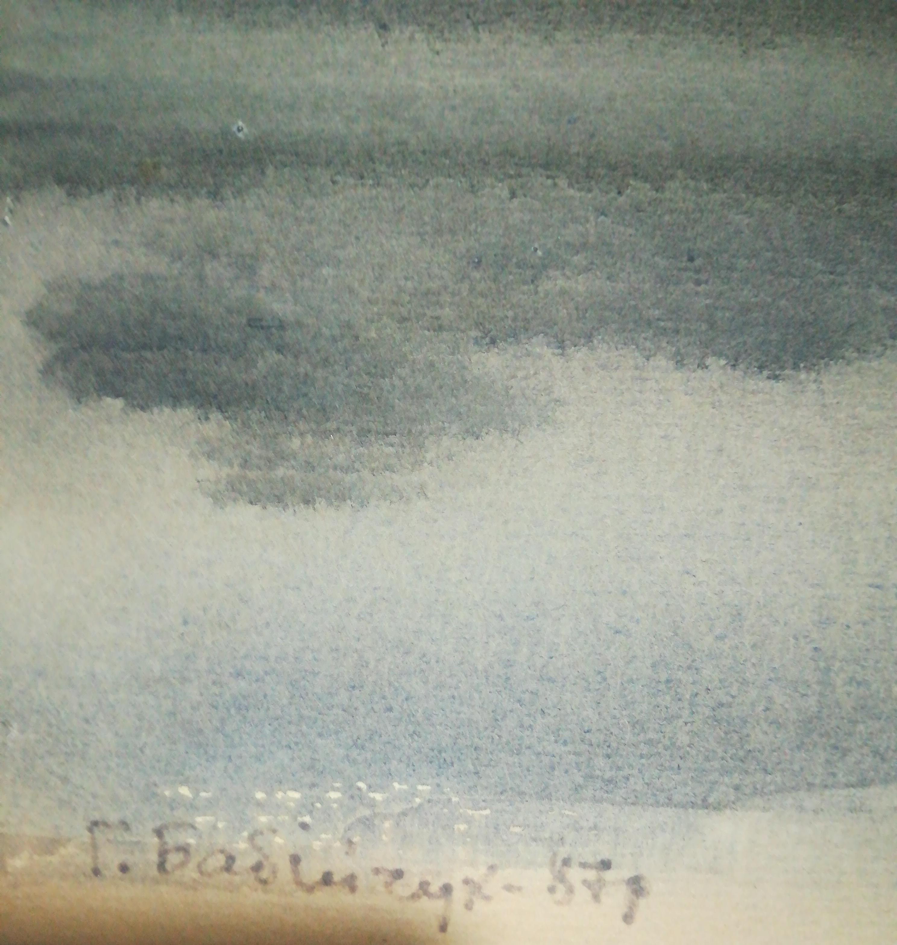 Пейзаж 50-31 см., картон 1987 год - 1