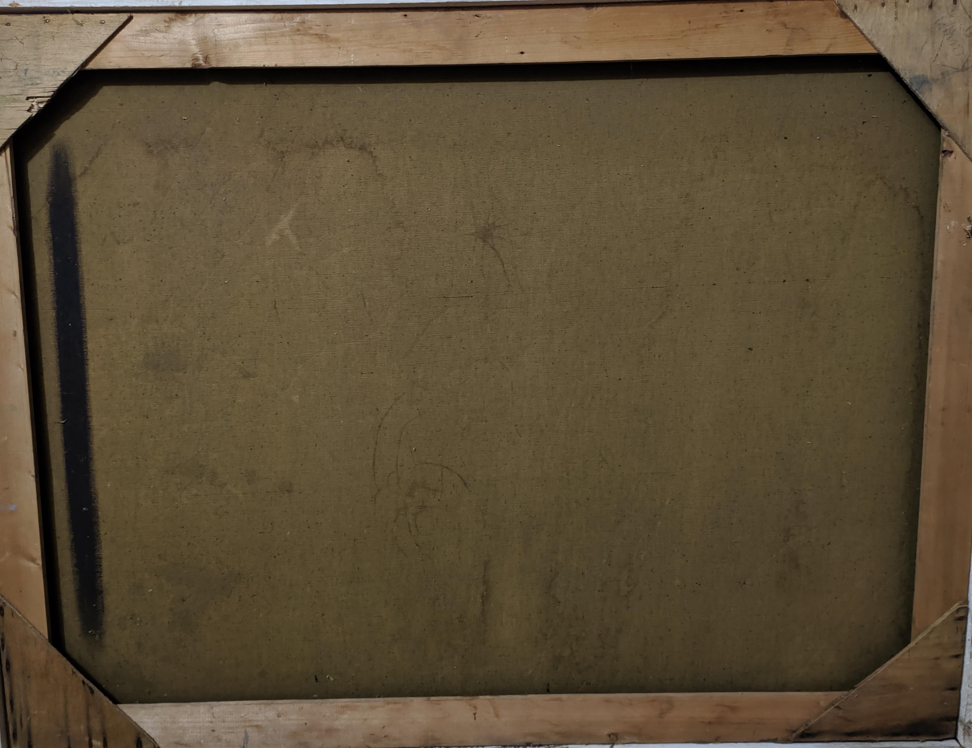 Портрет 75-100 см., холст, масло 1957 год  - 4