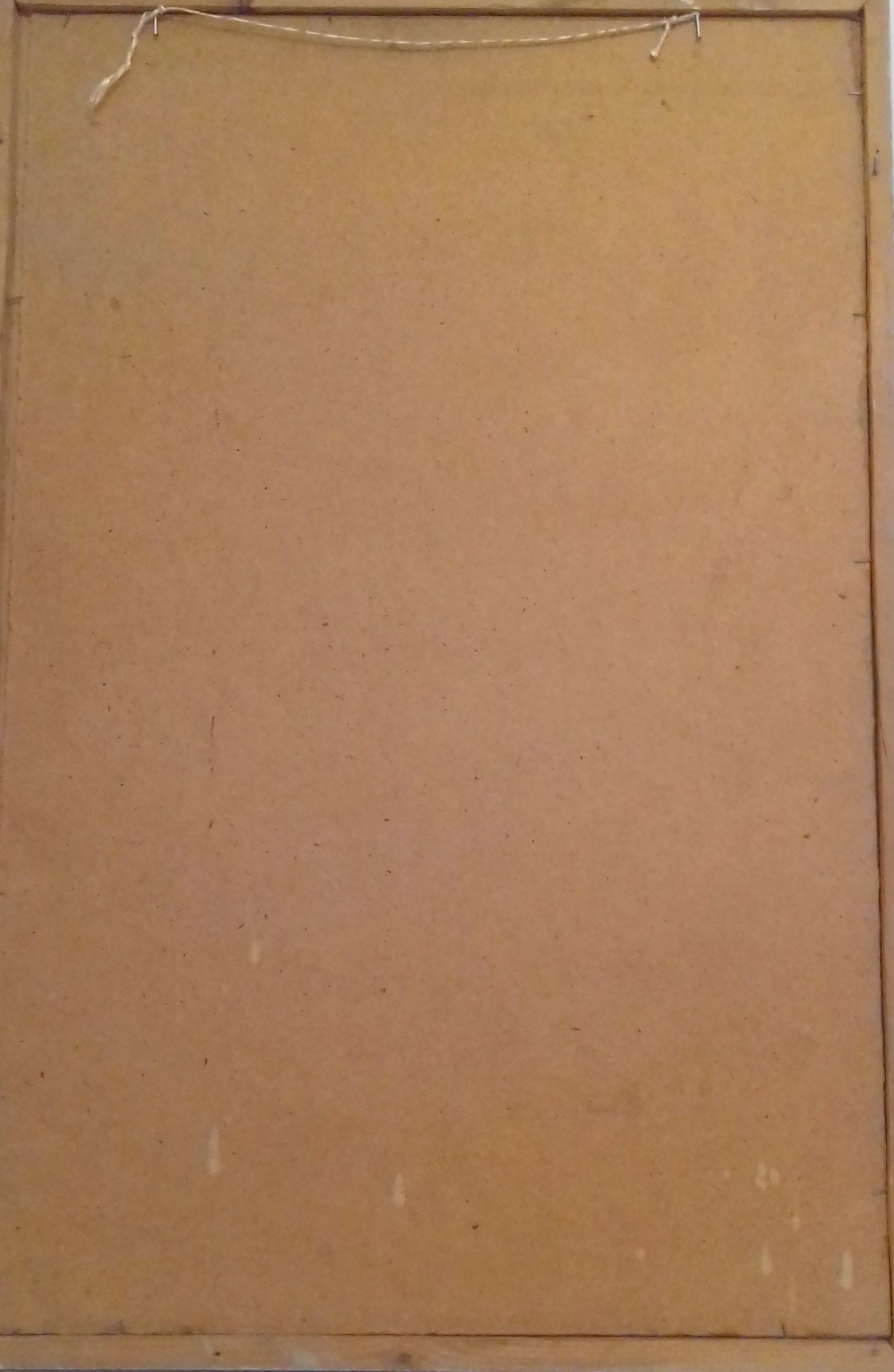 Калы 77-50 см. картон, масло 1980  - 3