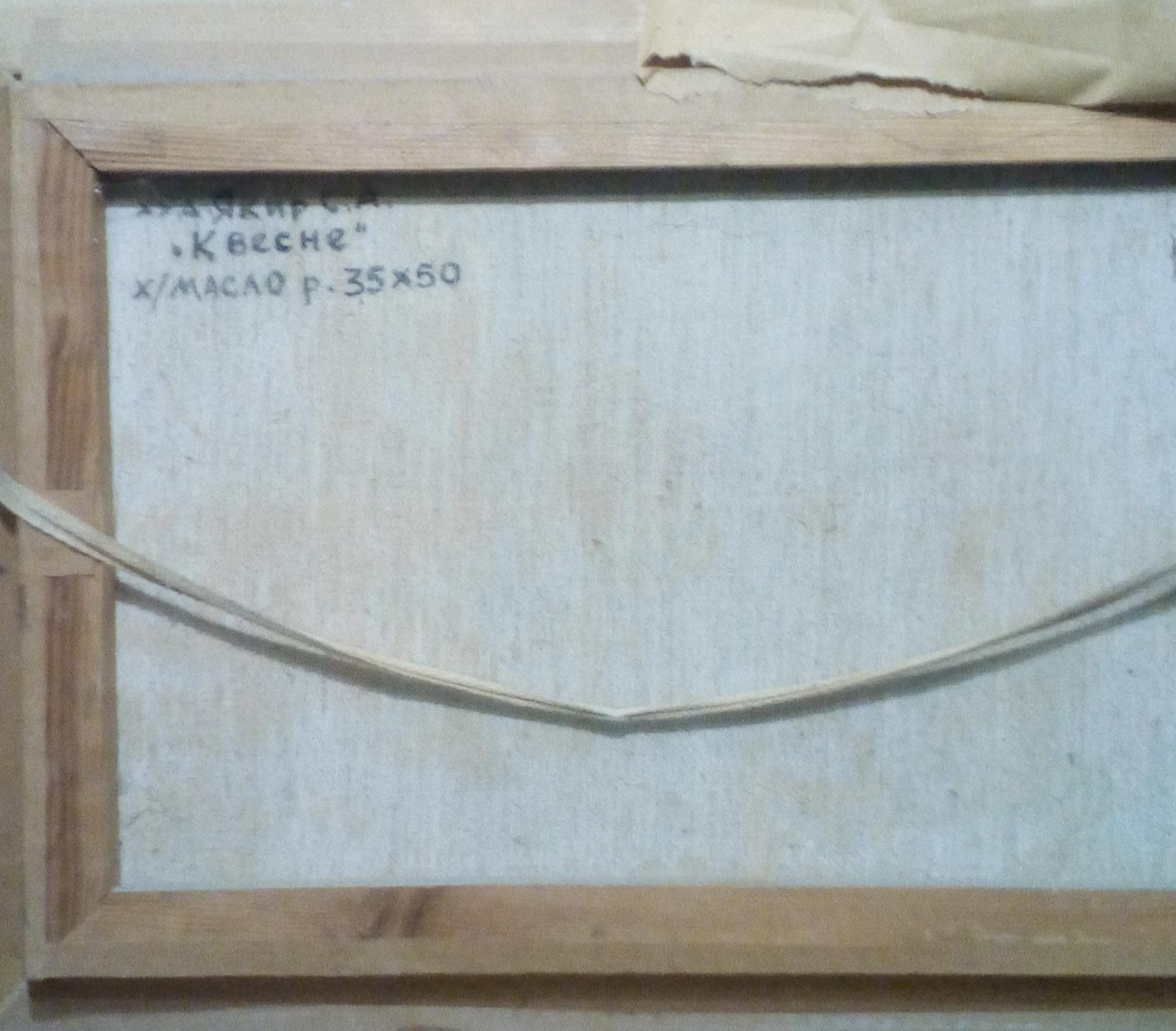 Якир С.А. К весне 35-50 см., холст, масло - 2