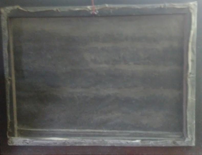 Домик в лесу 82-60 см., холст, масло 1950 год - 1