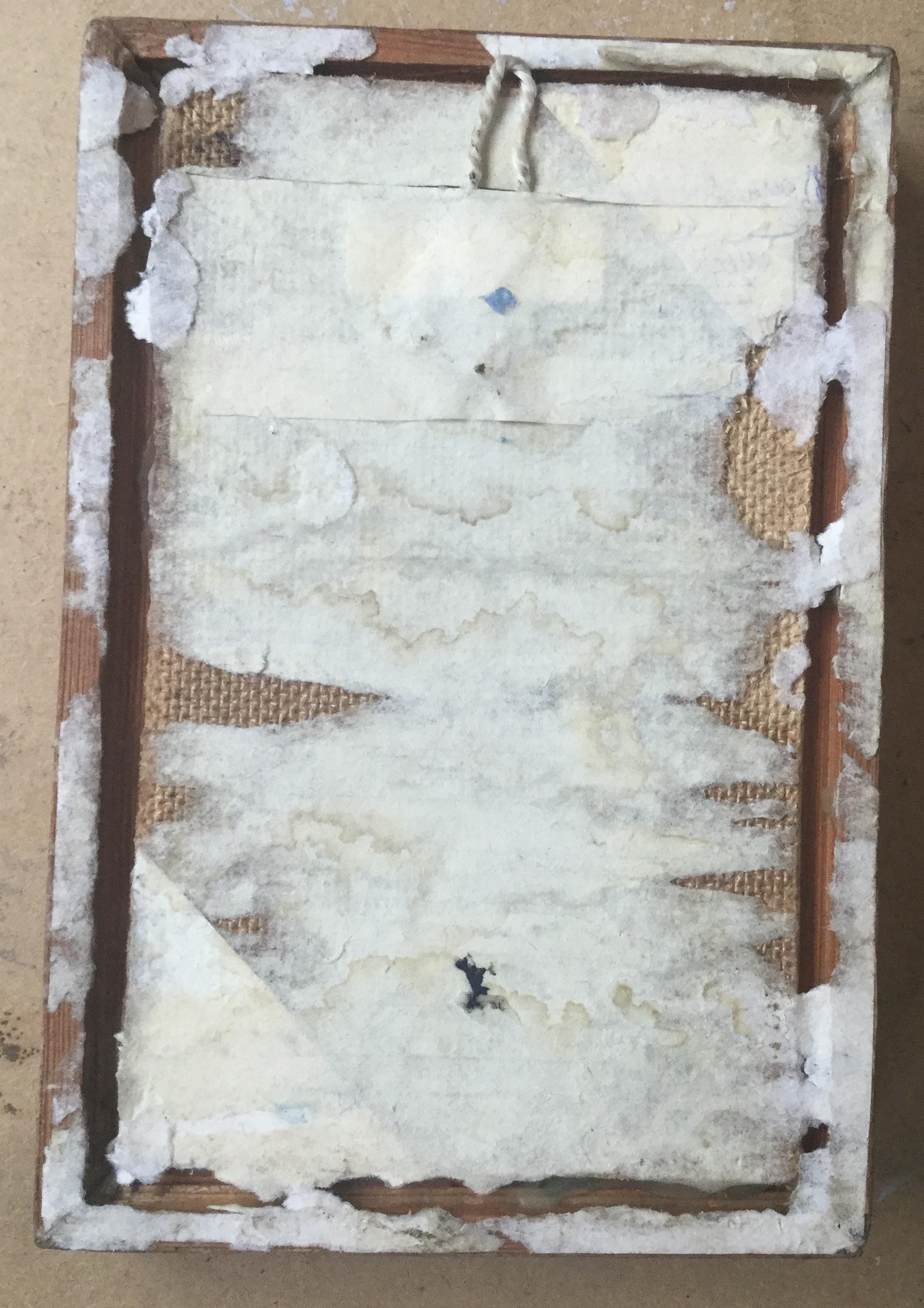Река 17,5-10,5 см., холст на картоне, масло 1997 год  - 3