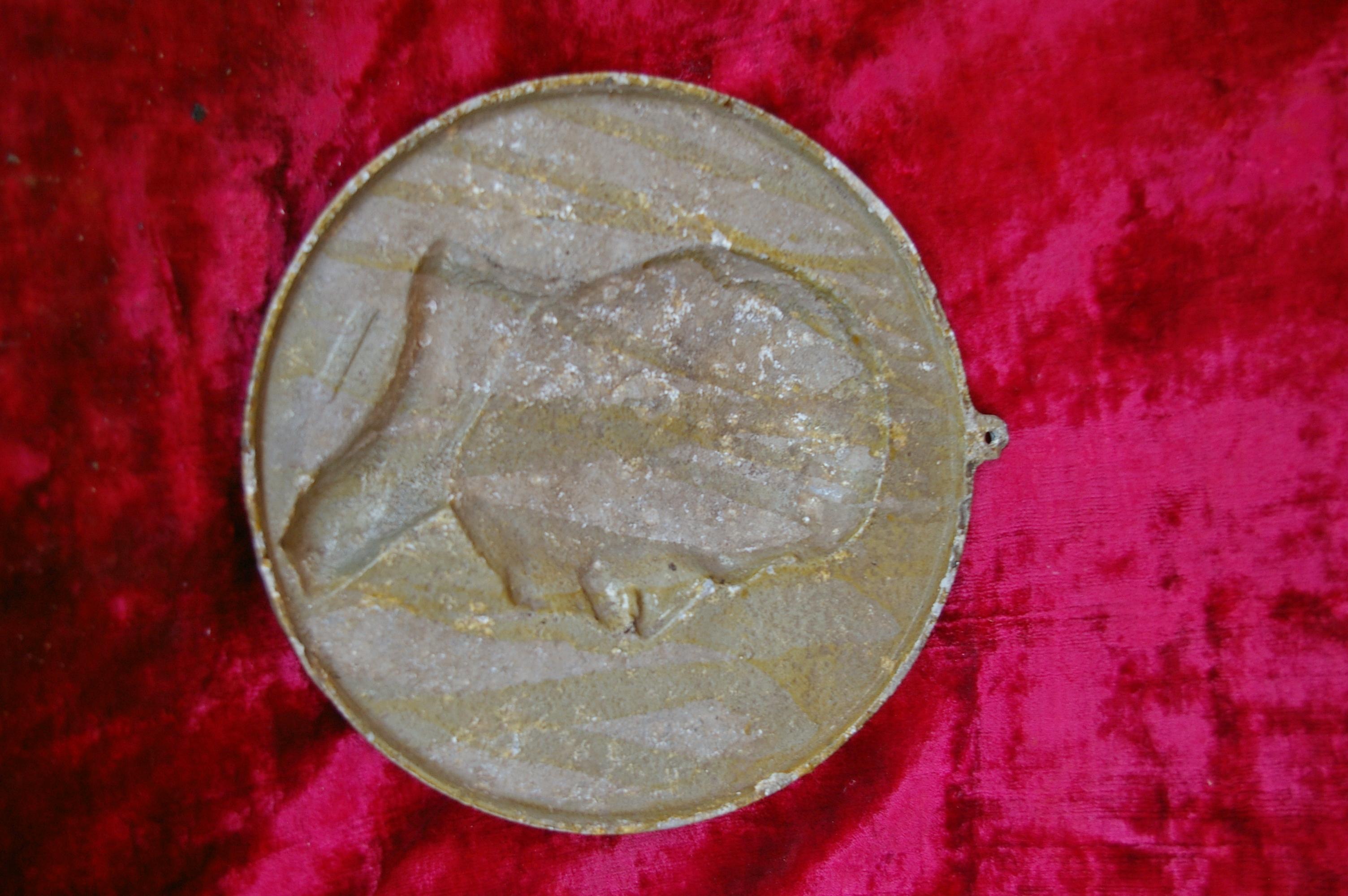 Барельеф Сталин, материал метал, ширина 24 см. - 2
